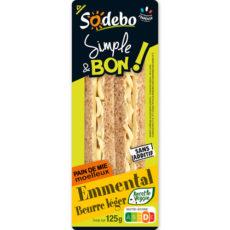 Sandwich Simple & Bon ! Club - Emmental Beurre léger