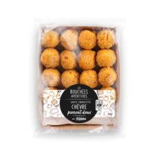 Les bouchées Chèvre-piment doux par Sodebo