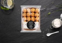 Les bouchées apéritives Bœuf paprika Sauce ciboulette