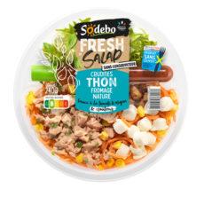 Fresh Salad - Crudités Thon Fromage nature