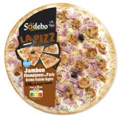 La Pizz – Champignons de Paris Crème fraîche légère