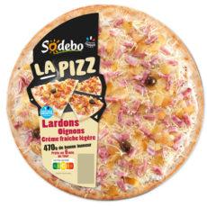 La Pizz - Lardons Oignons Crème fraîche légère