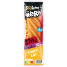 Sandwich Le Méga - Baguette - Poulet rôti Sauce tandoori